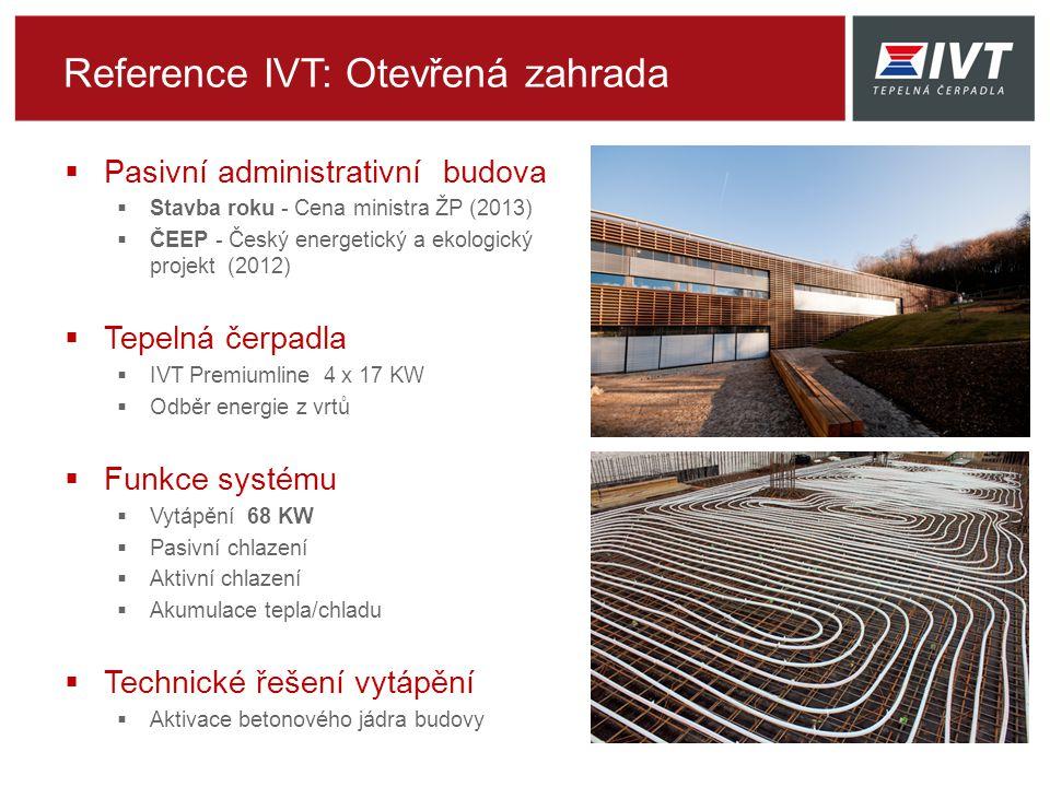 Reference IVT: Otevřená zahrada