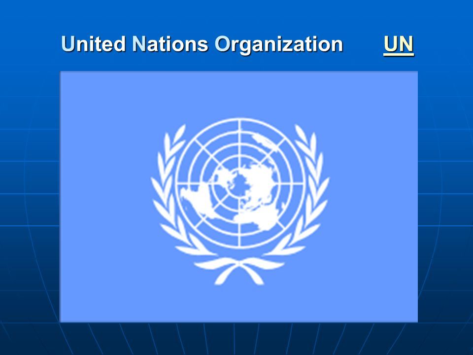 United Nations Organization UN