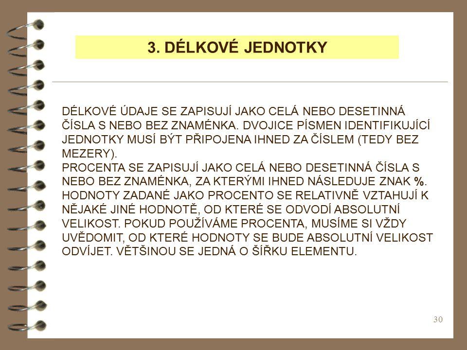 3. DÉLKOVÉ JEDNOTKY