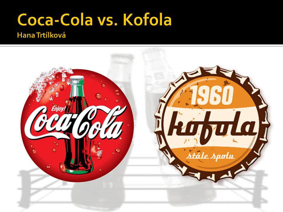 Coca-Cola vs. Kofola Hana Trtílková