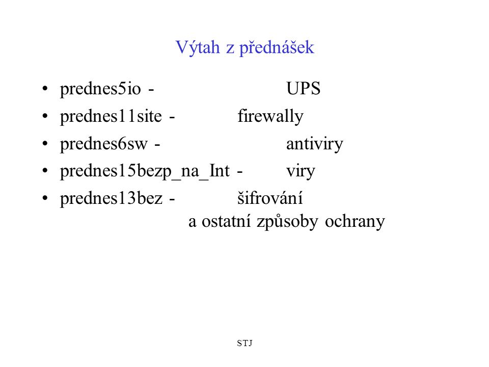 prednes11site - firewally prednes6sw - antiviry