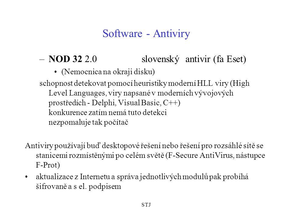 Software - Antiviry NOD 32 2.0 slovenský antivir (fa Eset)