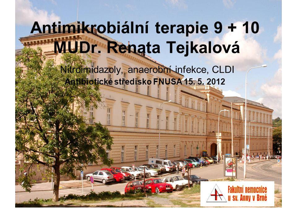 Antimikrobiální terapie 9 + 10 MUDr