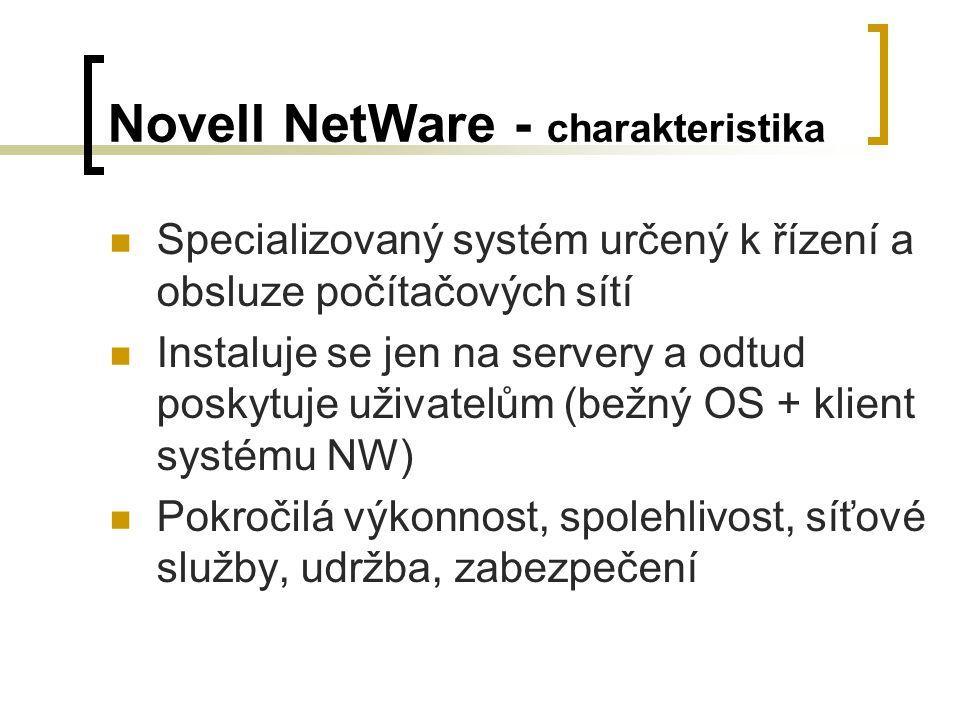 Novell NetWare - charakteristika