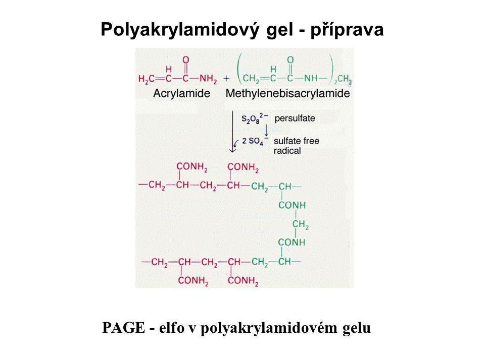 Polyakrylamidový gel - příprava