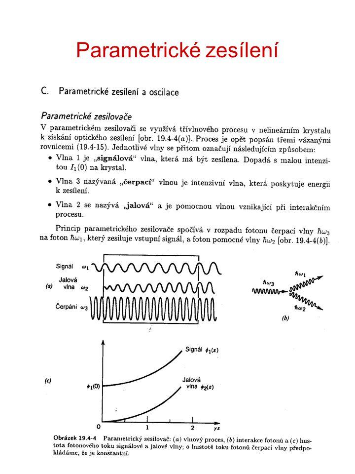 Parametrické zesílení