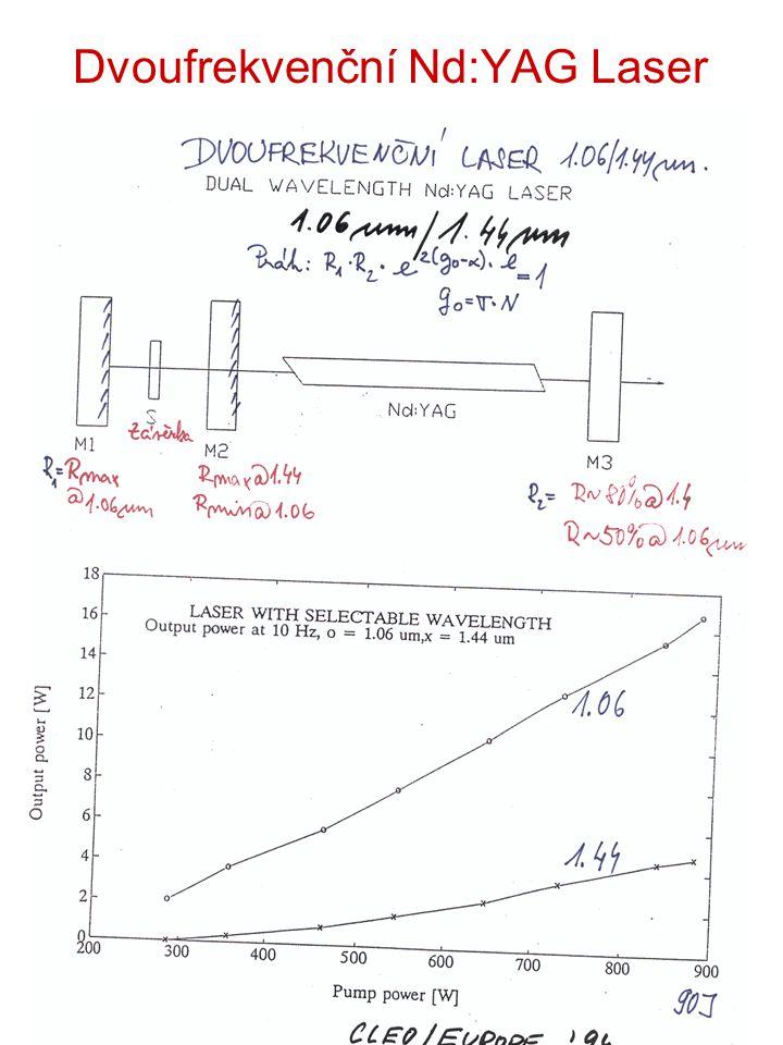 Dvoufrekvenční Nd:YAG Laser