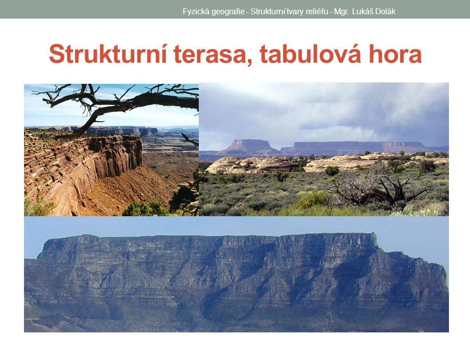 Strukturní terasa, tabulová hora