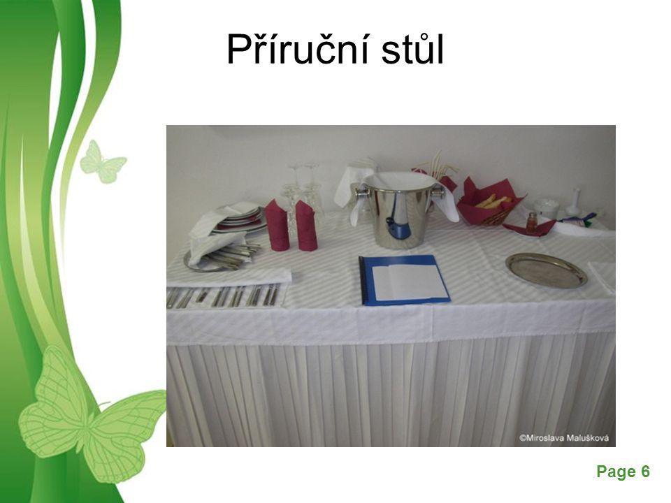 Příruční stůl
