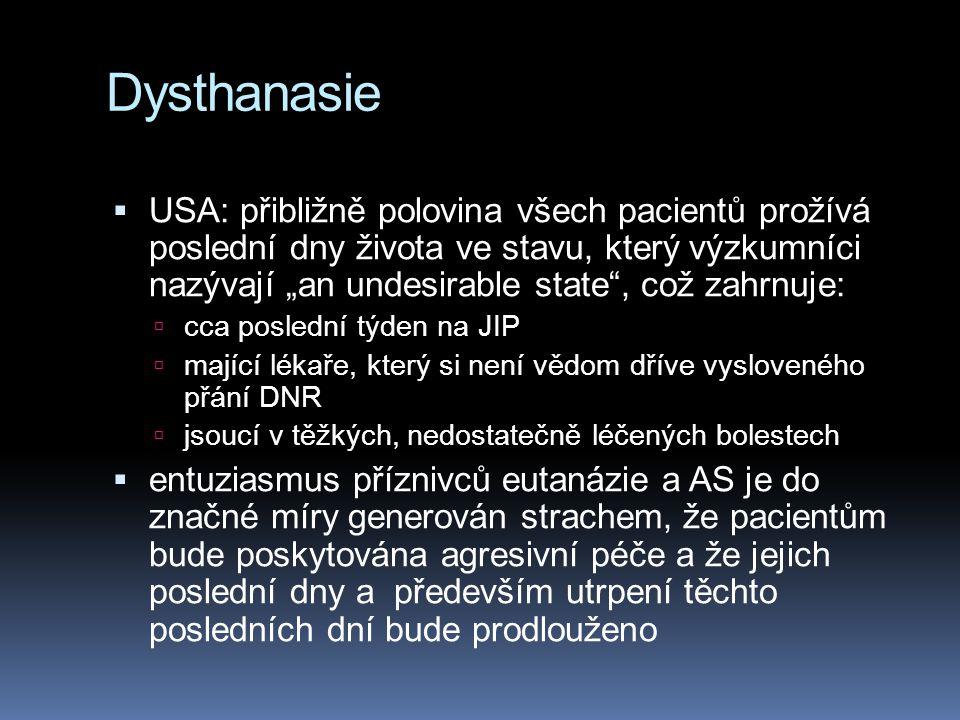 Dysthanasie