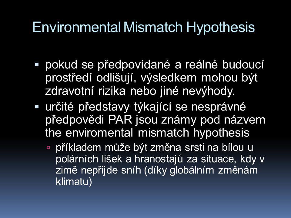 Environmental Mismatch Hypothesis