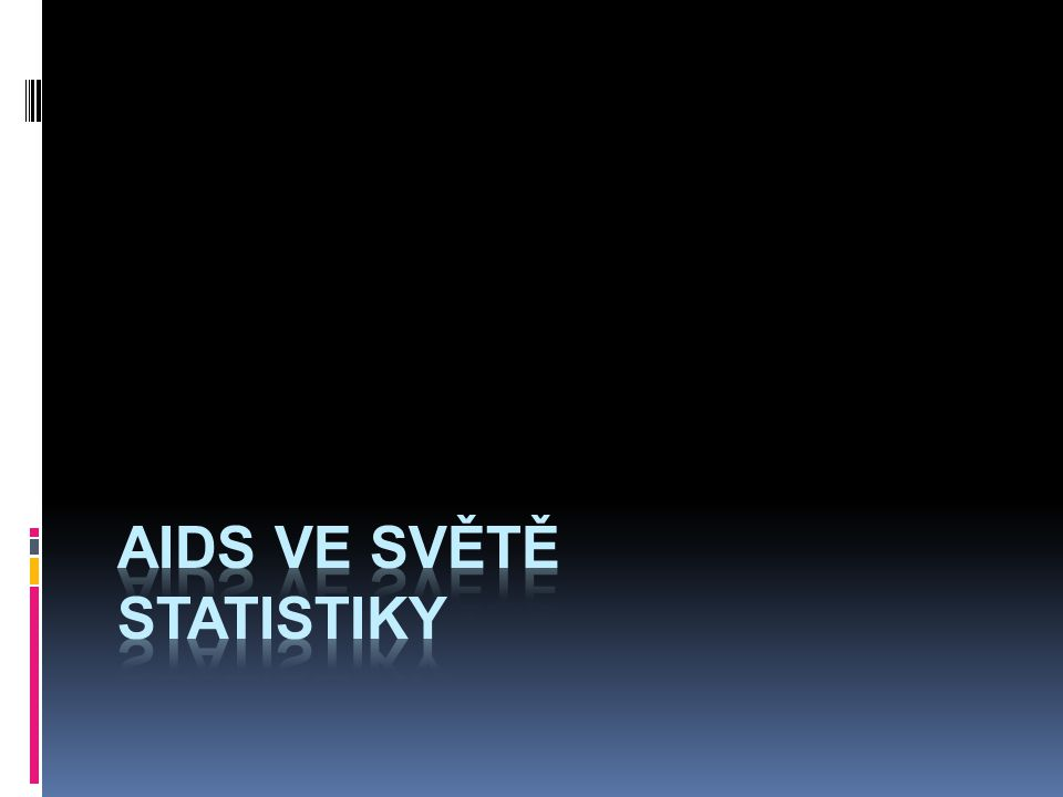 Aids ve světě statistiky