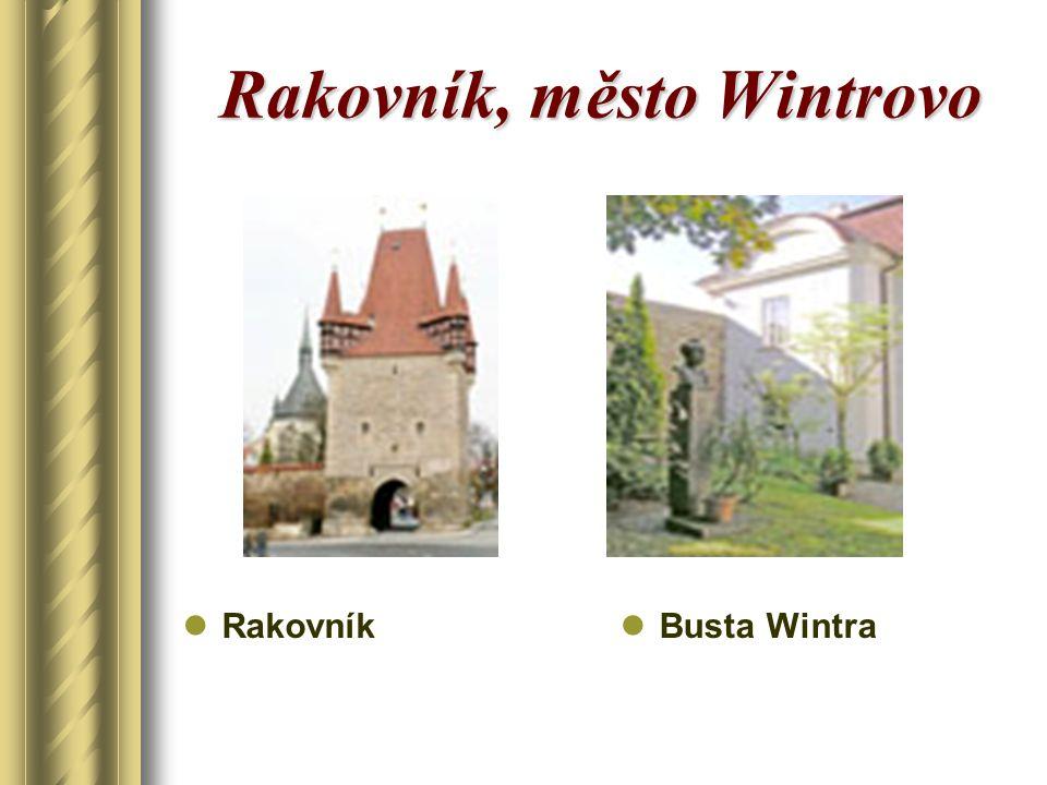 Rakovník, město Wintrovo