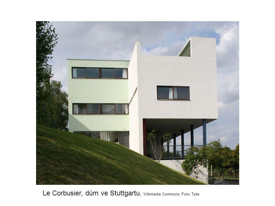 Le Corbusier, dům ve Stuttgartu. Wikimedia Commons. Foto: Tyke