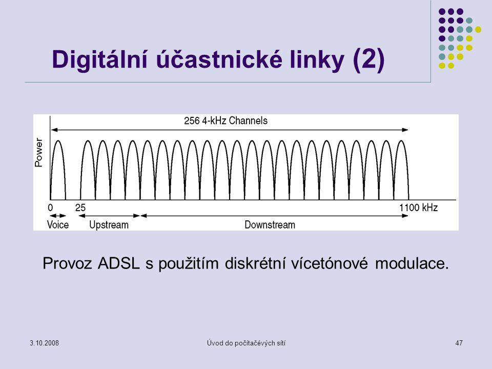 Digitální účastnické linky (2)