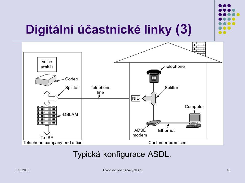 Digitální účastnické linky (3)