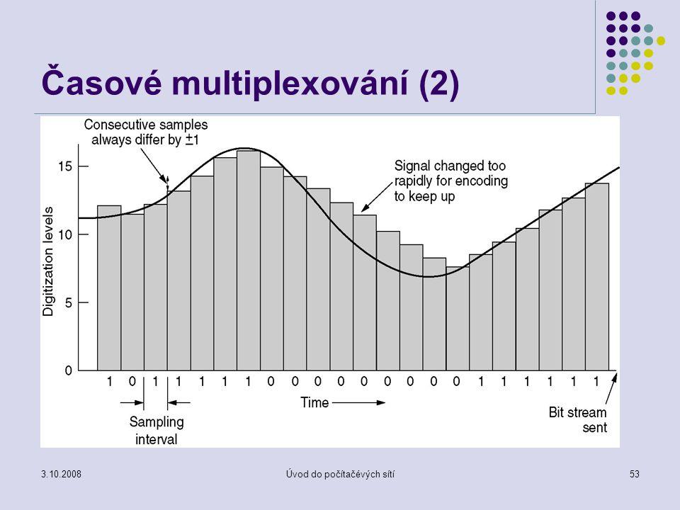 Časové multiplexování (2)