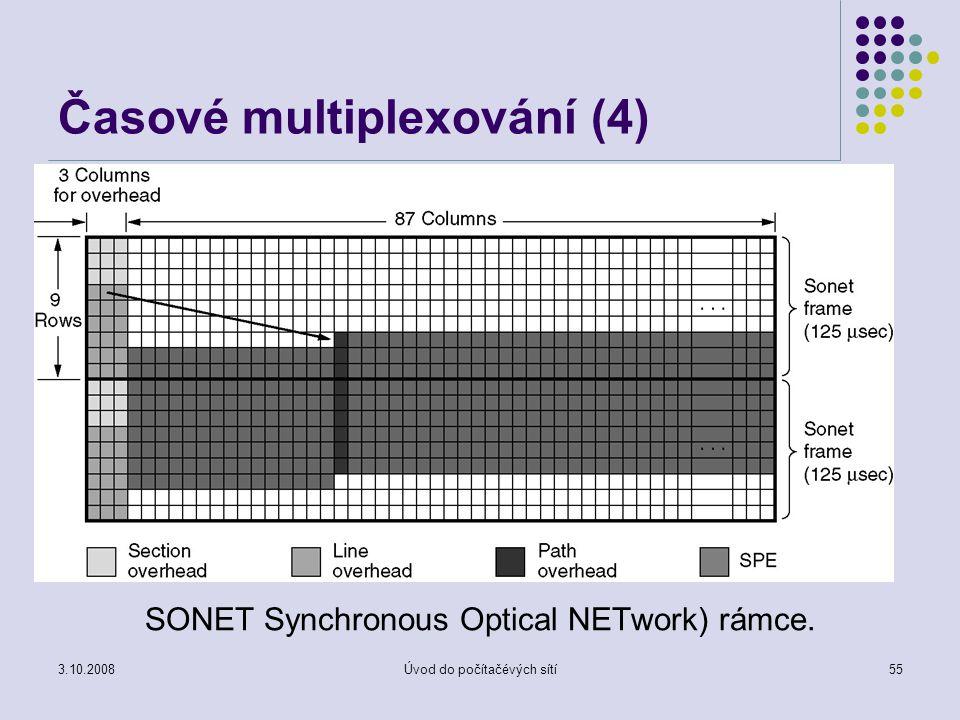 Časové multiplexování (4)