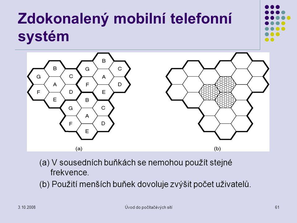 Zdokonalený mobilní telefonní systém