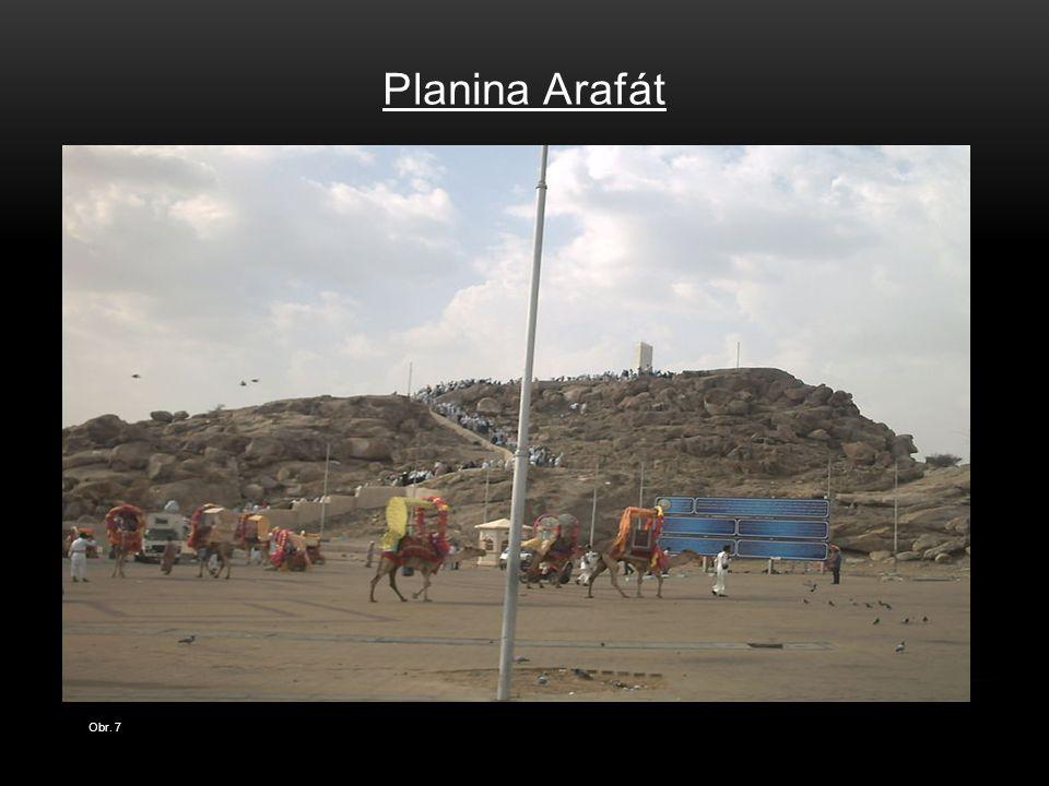 Planina Arafát Obr. 7