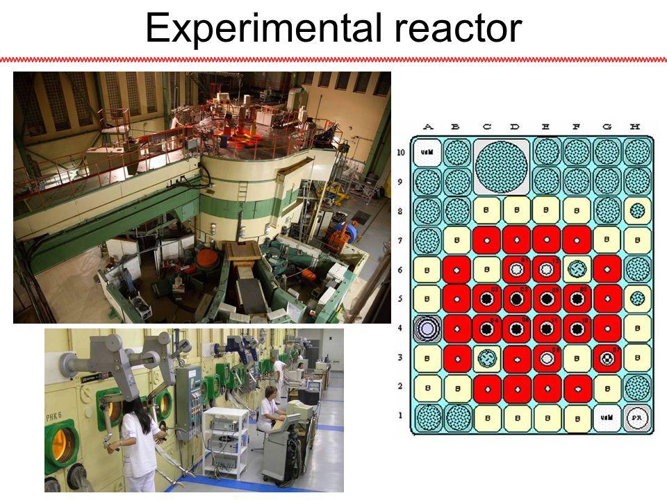 Experimental reactor