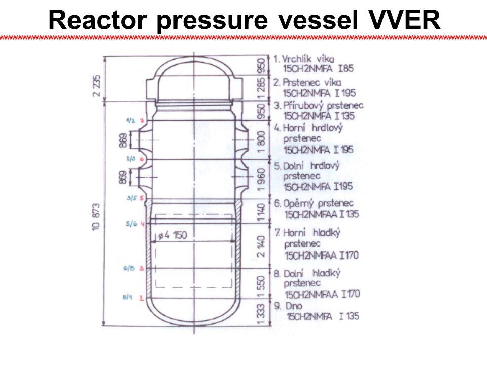 Reactor pressure vessel VVER