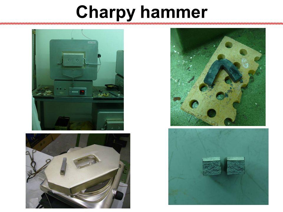 Charpy hammer