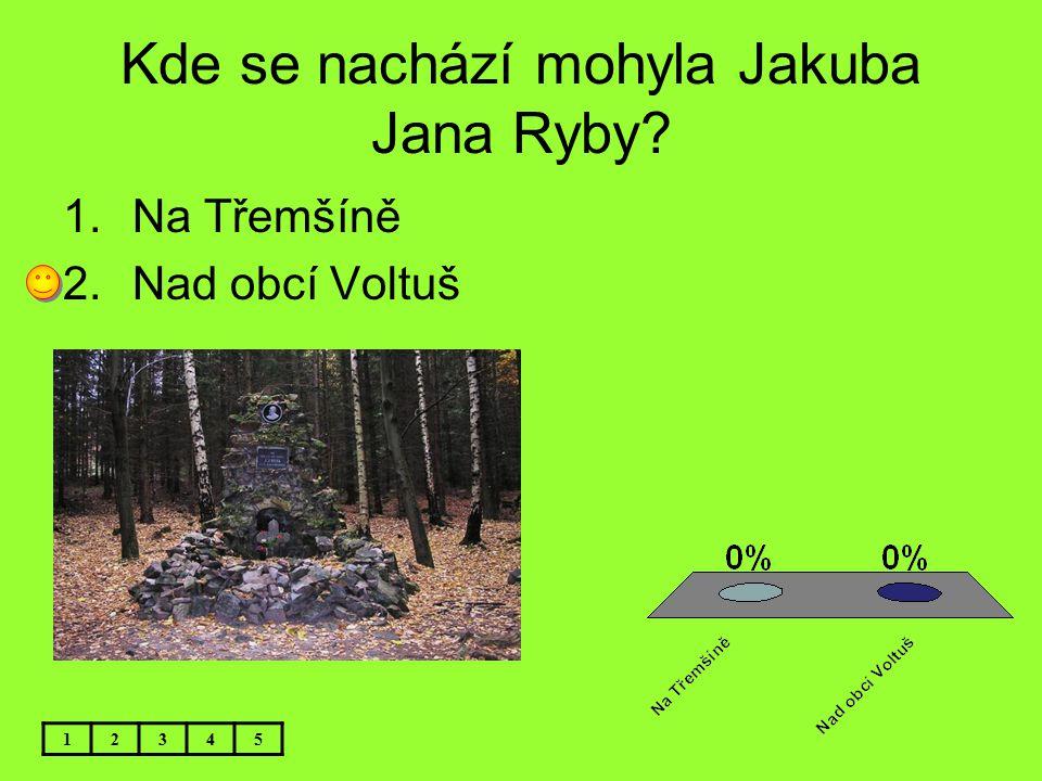 Kde se nachází mohyla Jakuba Jana Ryby
