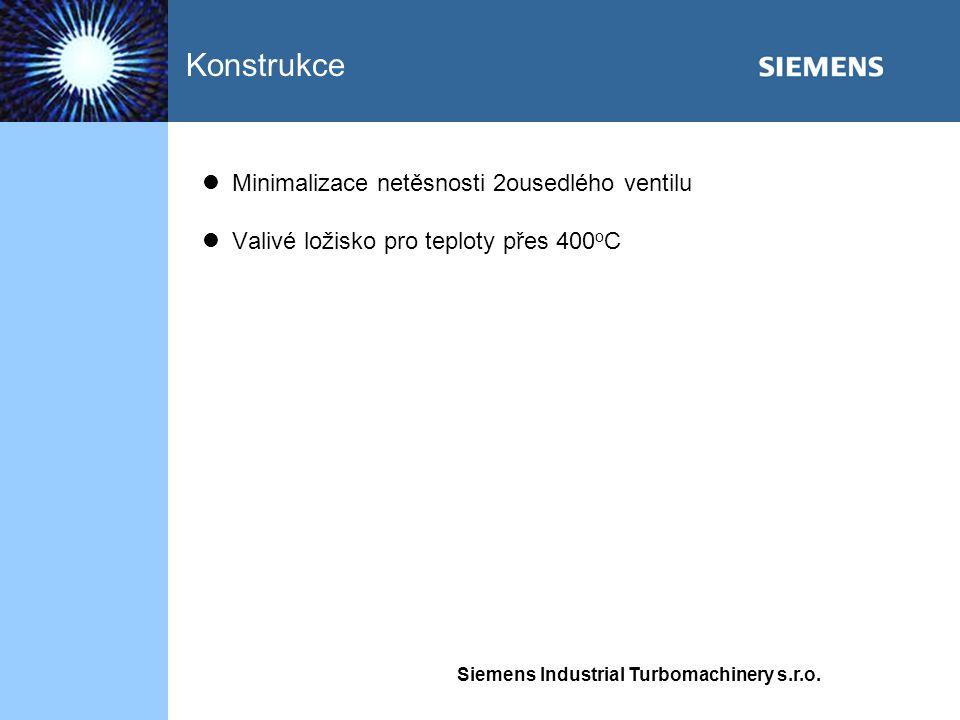Konstrukce Minimalizace netěsnosti 2ousedlého ventilu