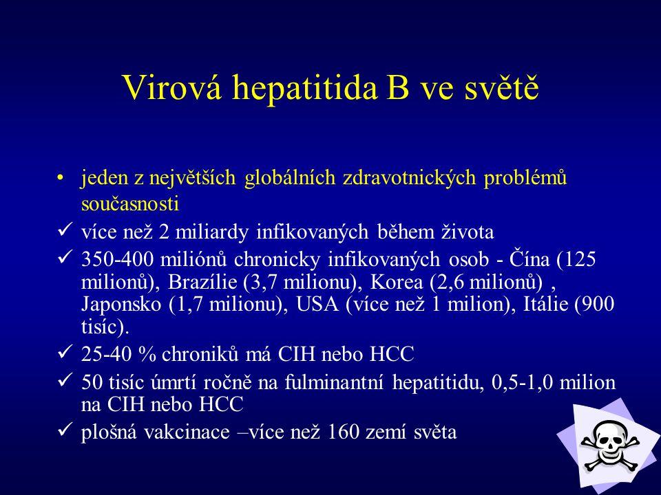 Virová hepatitida B ve světě