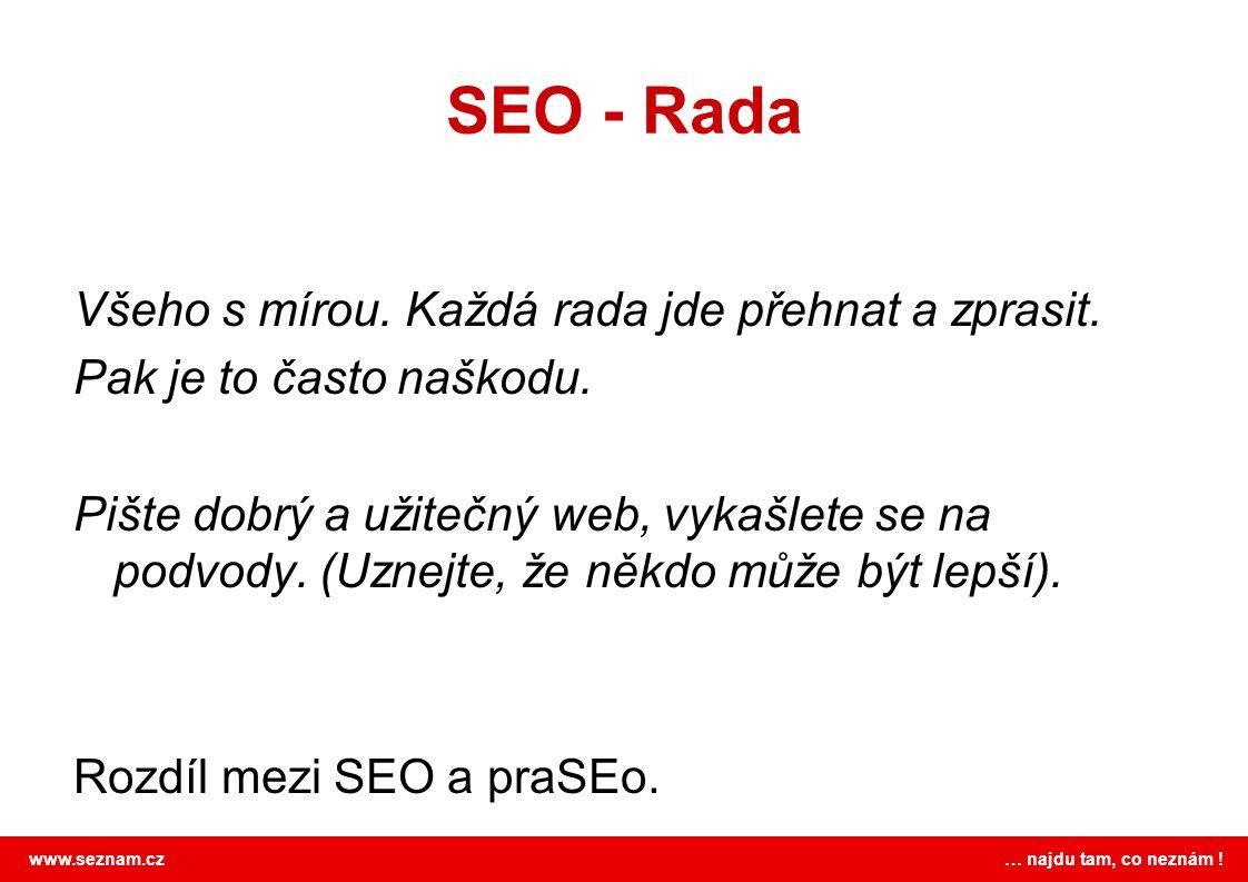 SEO - Rada