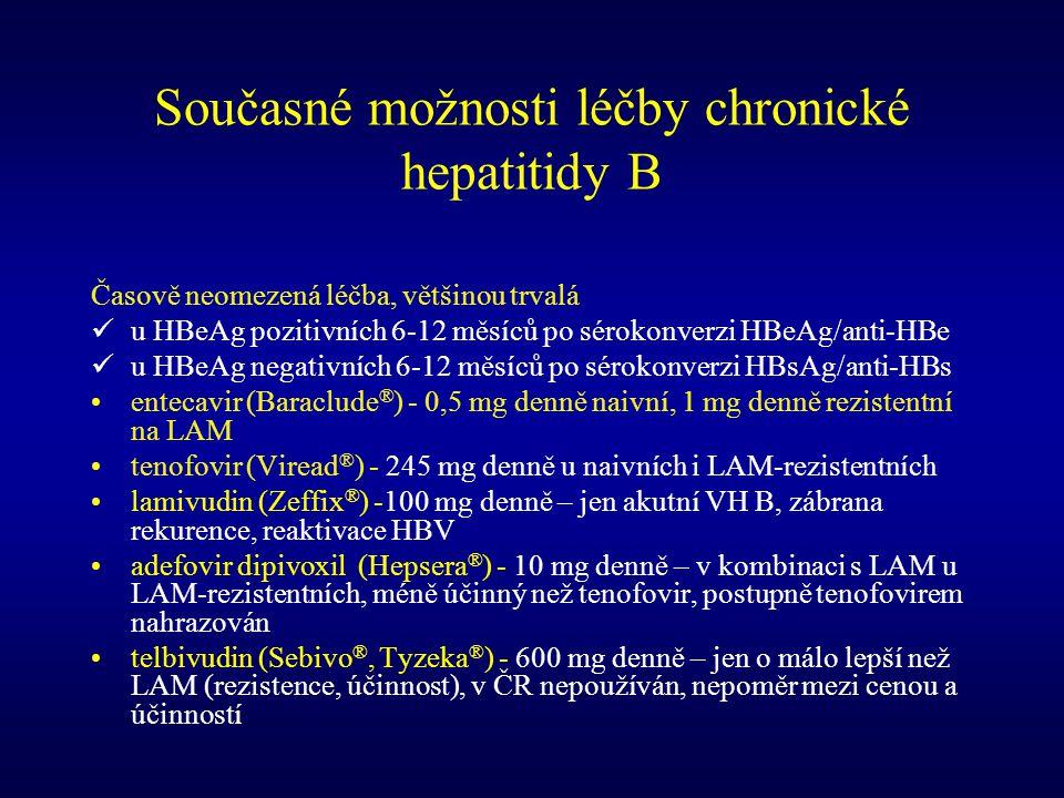 Současné možnosti léčby chronické hepatitidy B