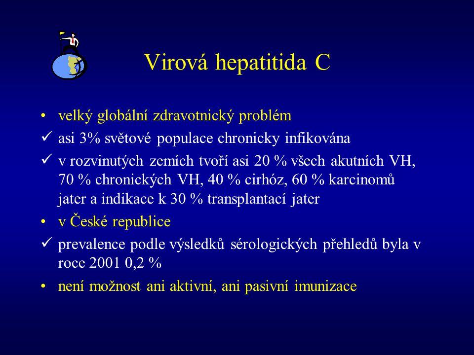 Virová hepatitida C velký globální zdravotnický problém