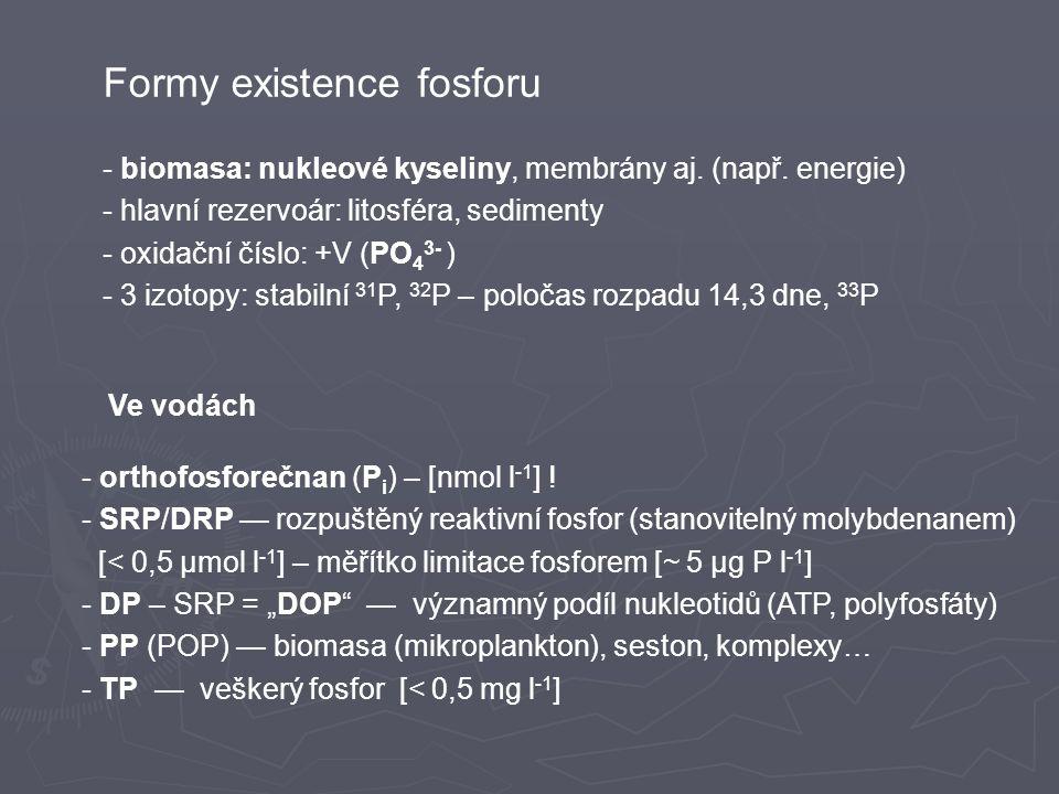 Formy existence fosforu