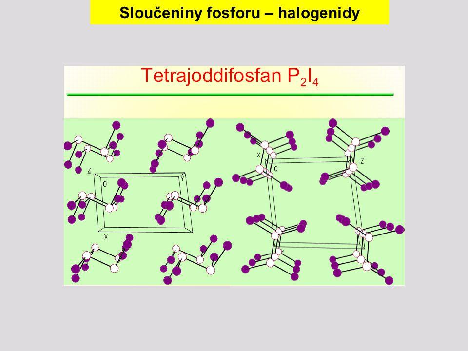 Sloučeniny fosforu – halogenidy
