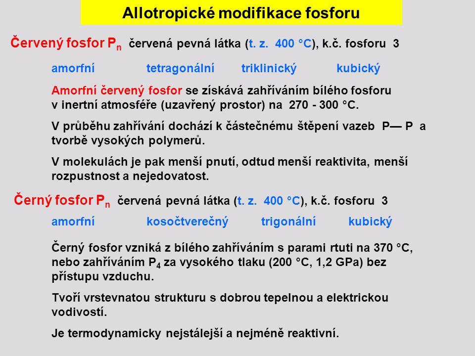 Allotropické modifikace fosforu