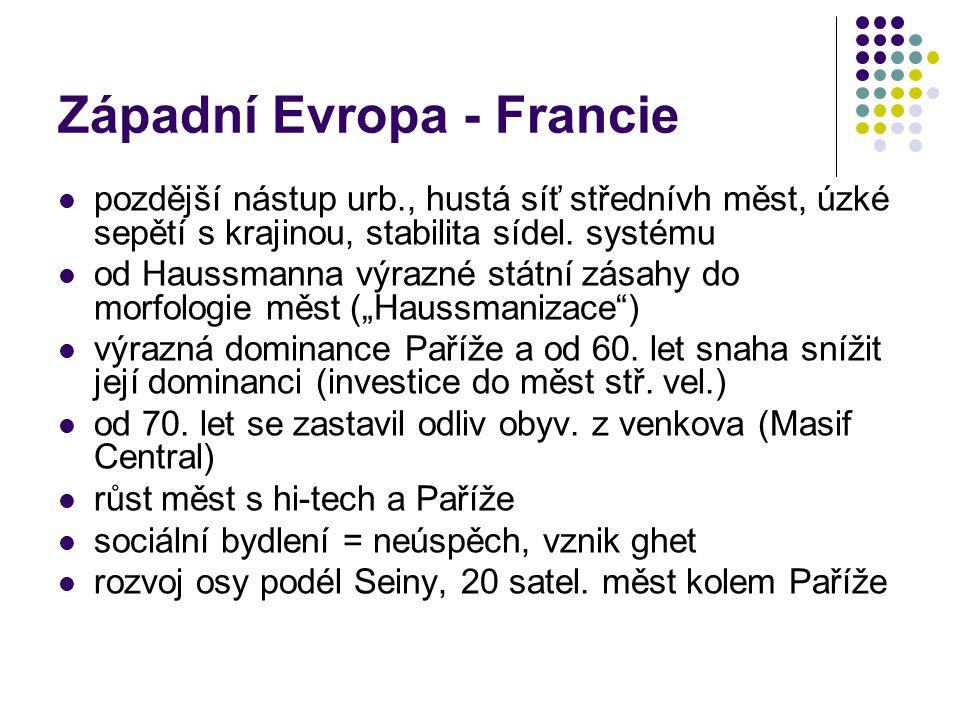 Západní Evropa - Francie