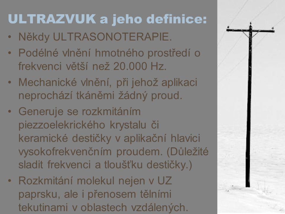 ULTRAZVUK a jeho definice: