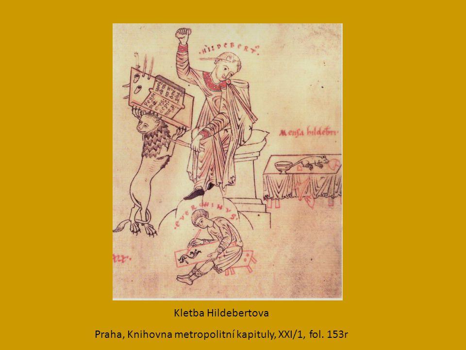 Praha, Knihovna metropolitní kapituly, XXI/1, fol. 153r