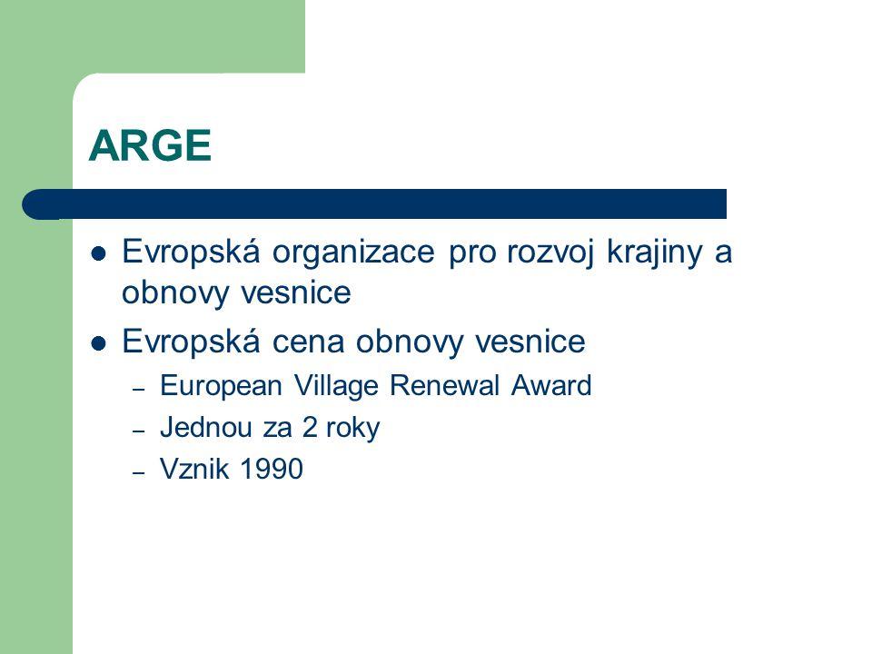 ARGE Evropská organizace pro rozvoj krajiny a obnovy vesnice