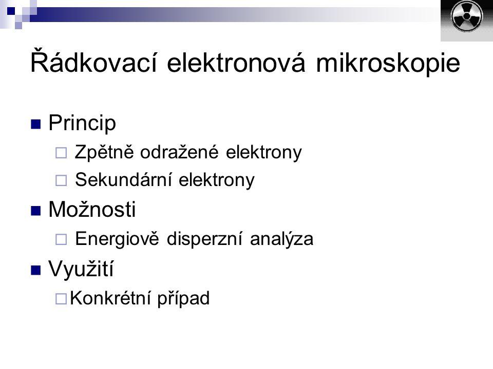 Řádkovací elektronová mikroskopie