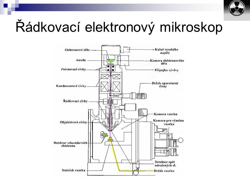 Řádkovací elektronový mikroskop