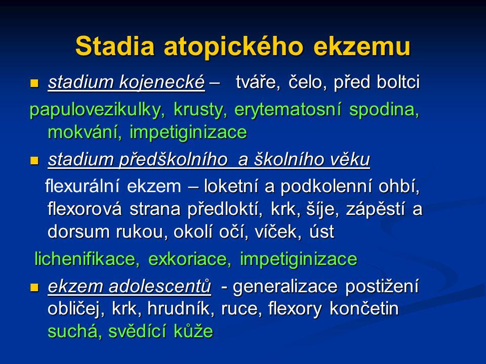 Stadia atopického ekzemu