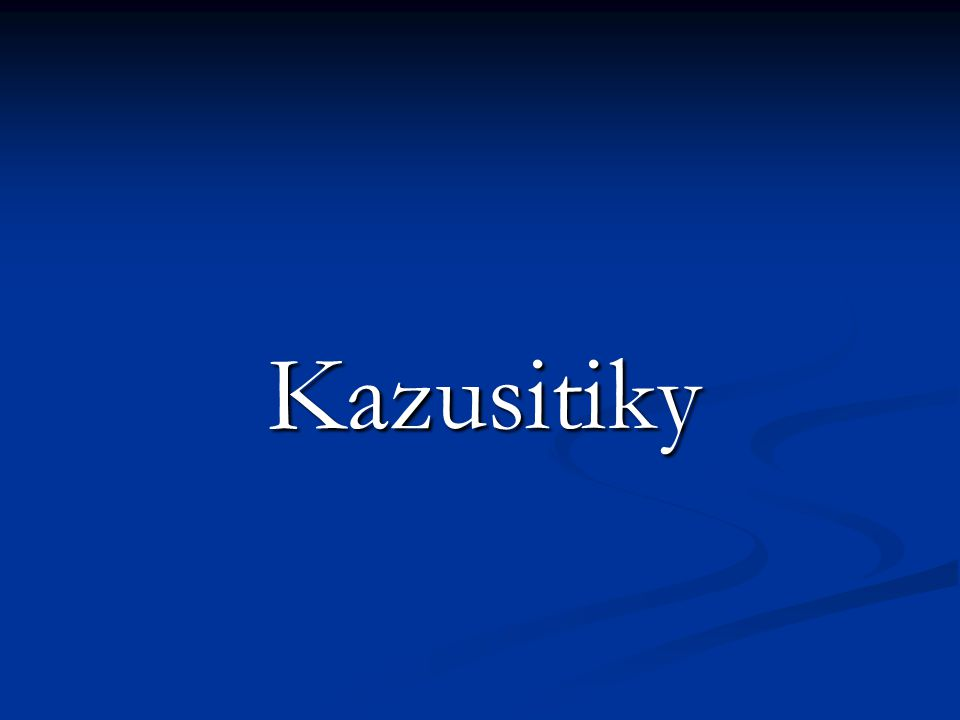 Kazusitiky