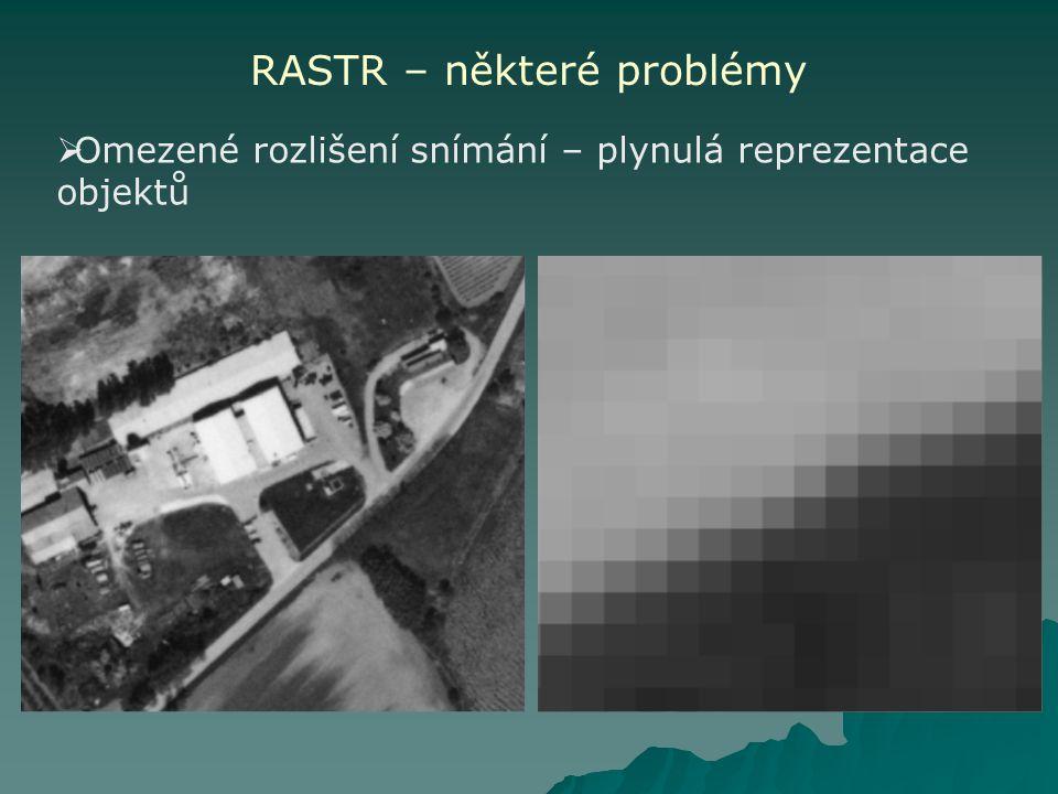 RASTR – některé problémy