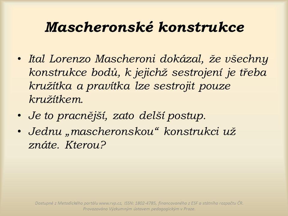 Mascheronské konstrukce