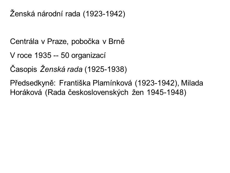 Ženská národní rada (1923-1942)