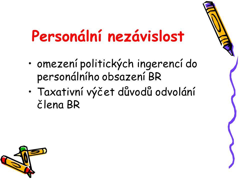 Personální nezávislost