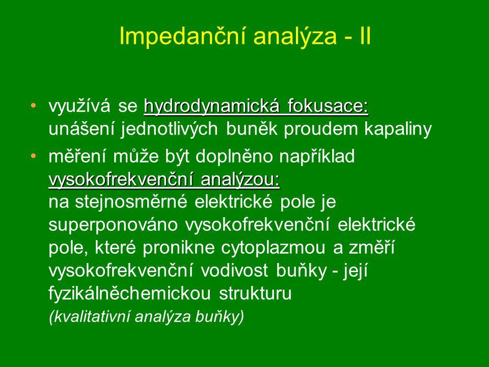 Impedanční analýza - II
