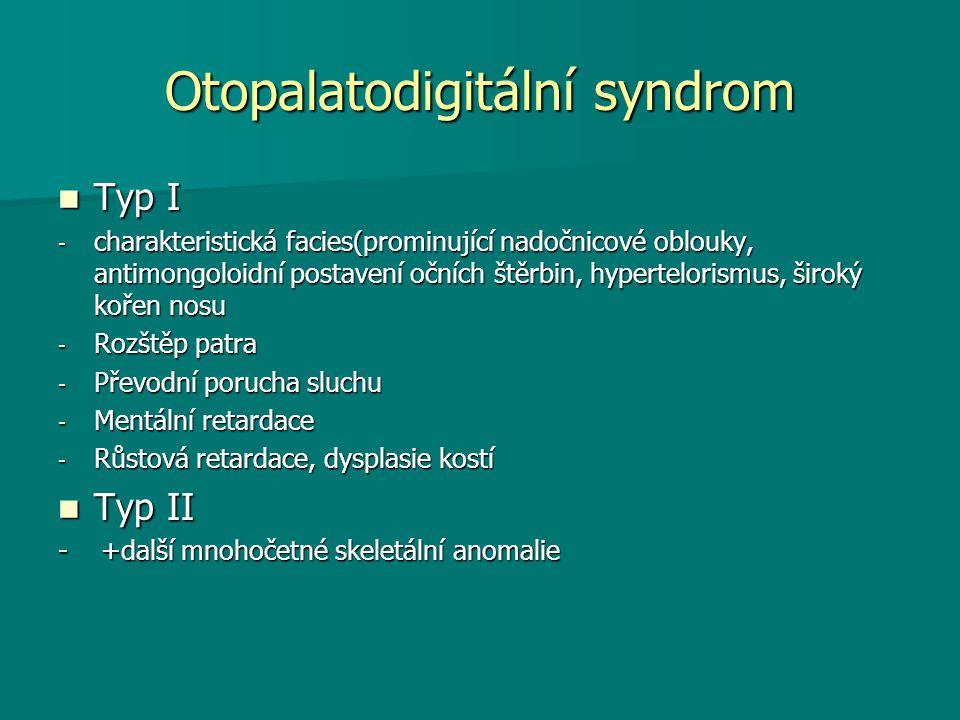 Otopalatodigitální syndrom